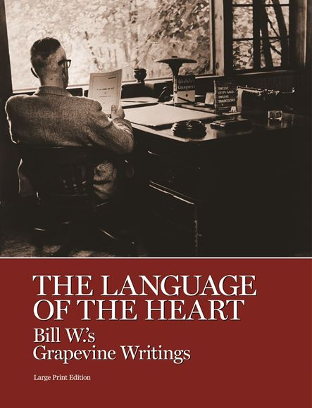 Language of the Heart Soft Cover Large Print Books - AA Grapevine