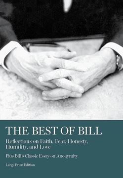 Best Of BIll LARGE-PRINT, SOFTCOVER Book - AA Grapevine
