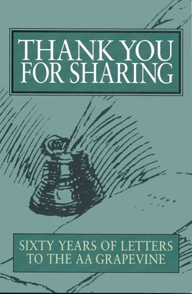 Thank You For Sharing (SOFT COVER BOOKS)  - AA Grapevine Store