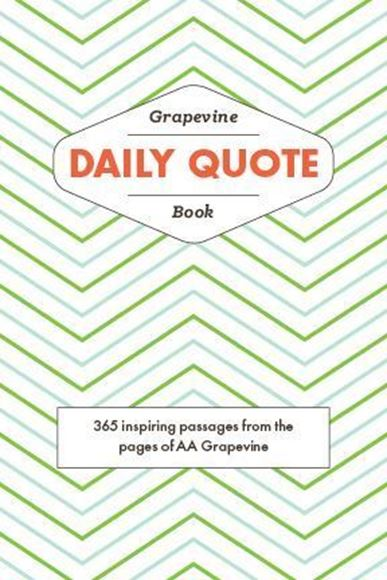 The Grapevine Daily Quote Book - AA Grapevine Online Store