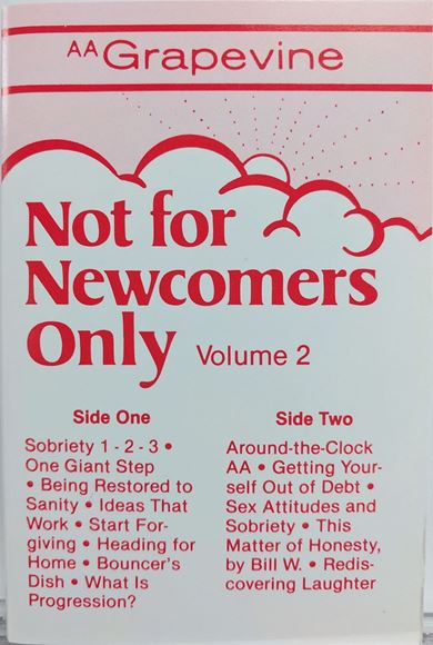 Picture of Not for Newcomers Only, Vol. 2 (Cassette)