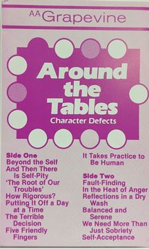 Picture of Around the Tables: Character Defects (Cassette)