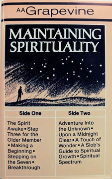 Picture of Maintaining Spirituality (Cassette Tape)