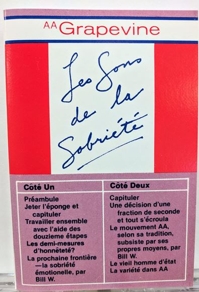 Picture of Les Sons De La Sobriété (Audiocassette)