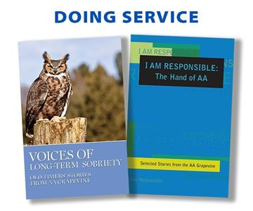 Doing Service Book Set - Books - AA Grapevine Online Store