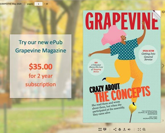 Picture of Grapevine ePub 2 Year Subscription